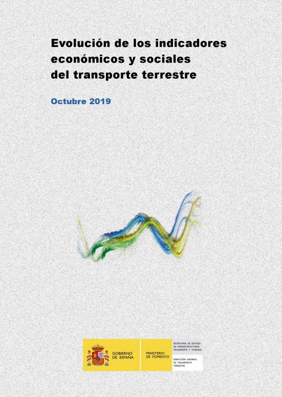 Cubierta de Evolución de los Indicadores Económicos y Sociales del Transporte Terrestre