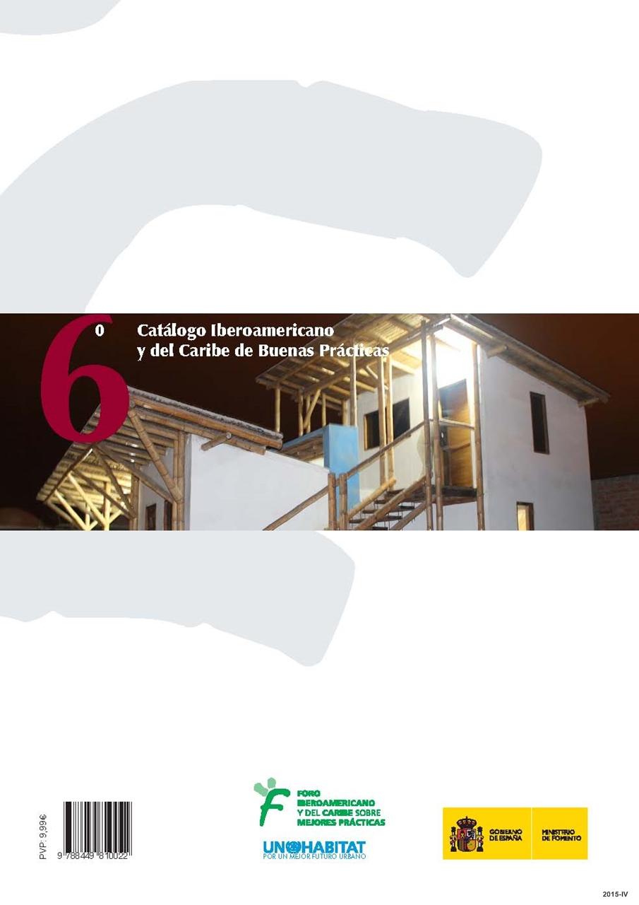 Cubierta de 6º catálogo iberoamericano y del Caribe de buenas prácticas