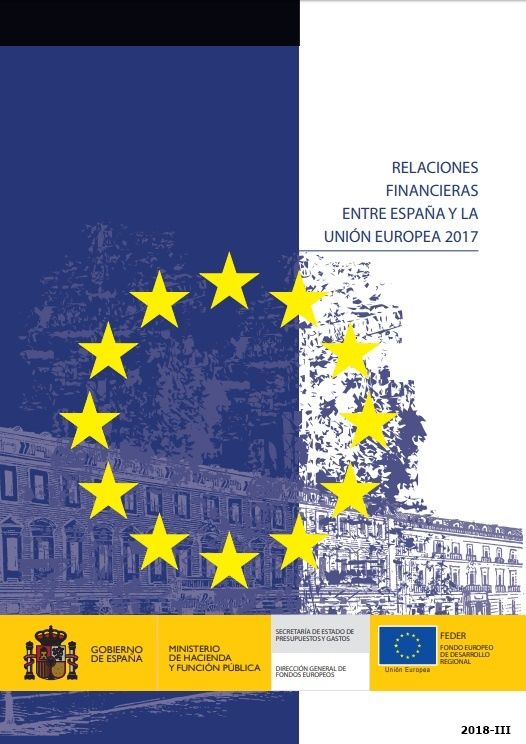 Cubierta de Relaciones Financieras entre España y la Unión Europea