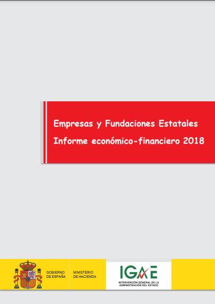 Cubierta de Empresas y Fundaciones Estatales. Informe Económico-Financiero