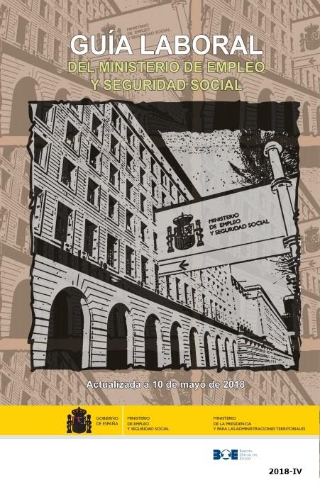 Cubierta de Guía Laboral del Ministerio de Empleo y Seguridad Social