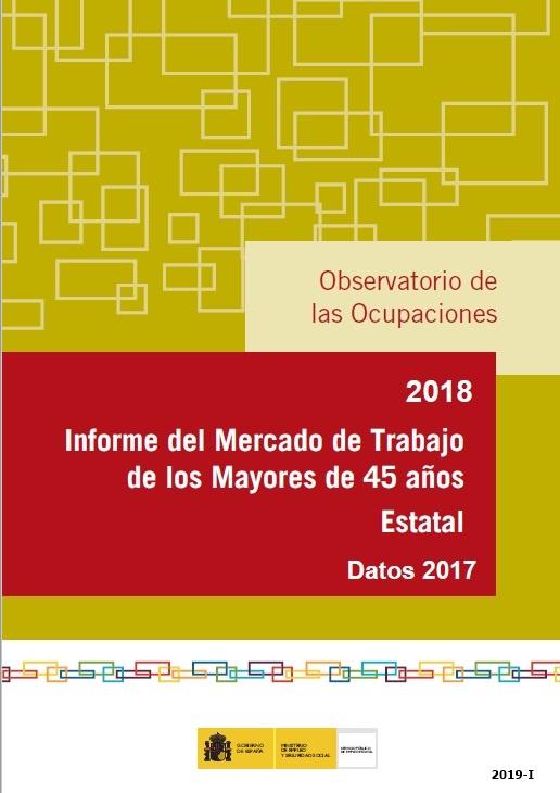 Cubierta de Informe del Mercado de Trabajo de los Mayores de 45 Años Estatal