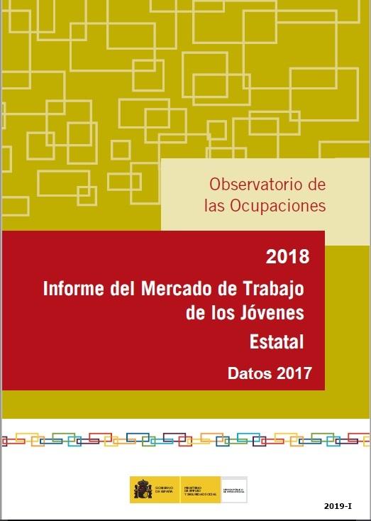 Cubierta de Informe del Mercado de Trabajo de los Jóvenes Estatal