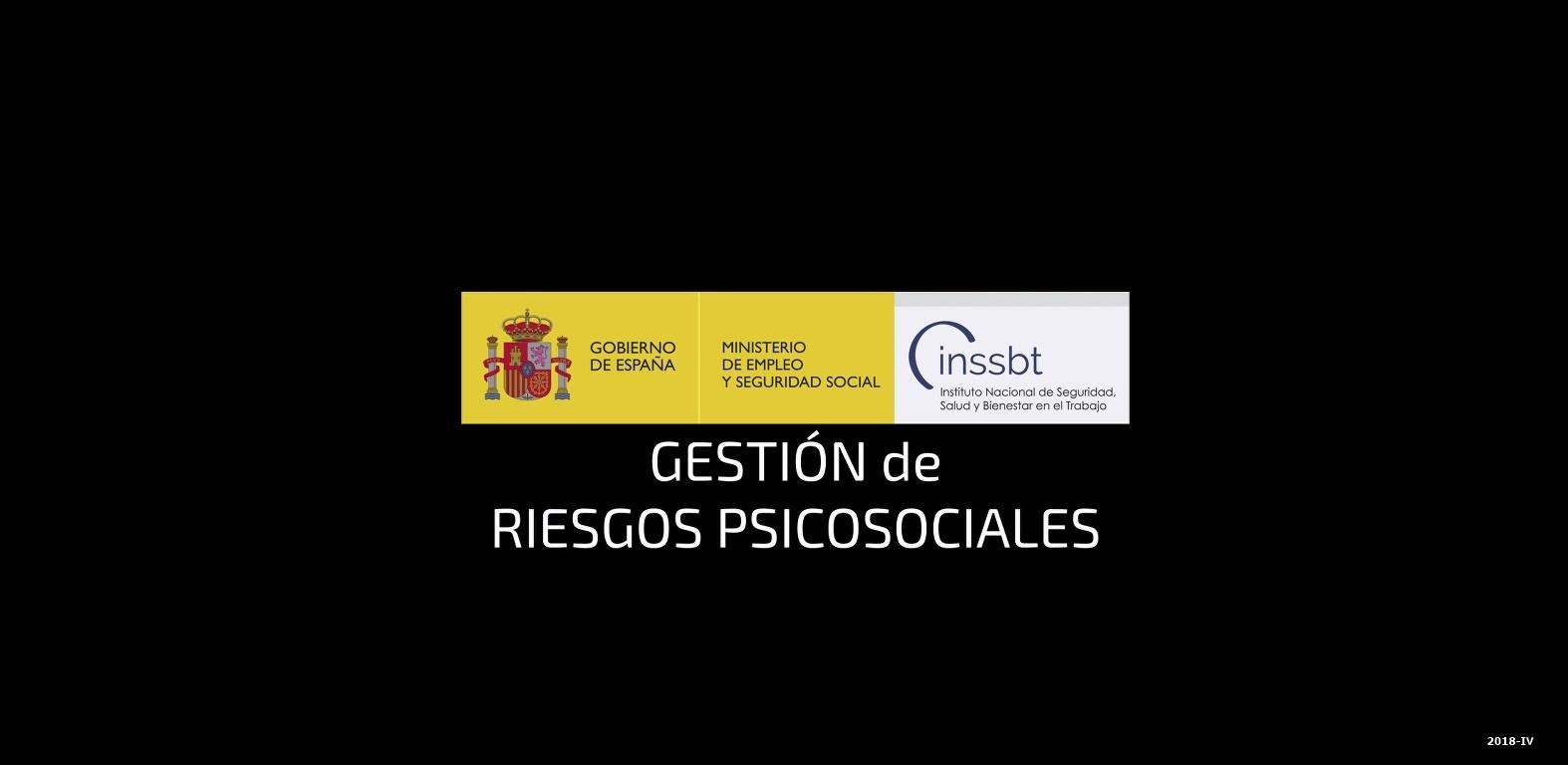 Cubierta de III. Protocolo de acoso psicológico en una administración pública (Gestión del riesgo psicosocial [Videograbación])