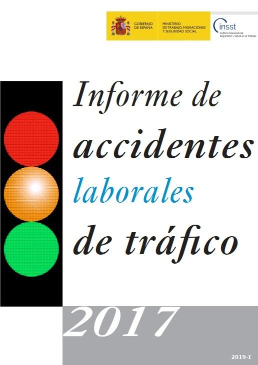 Cubierta de Informe de Accidentes Laborales de Tráfico