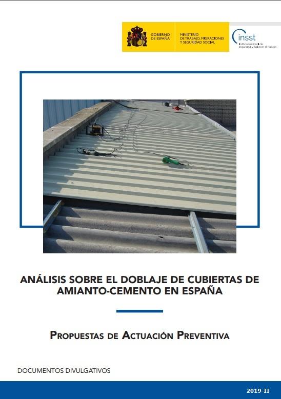 Cubierta de Análisis sobre el doblaje de cubiertas de amianto-cemento en España: propuestas de actuación preventiva