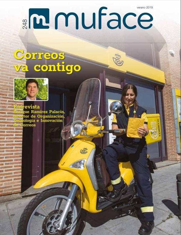 Cubierta de Muf@ce : Revista Electrónica de la Mutualidad General de Funcionarios Civiles del Estado