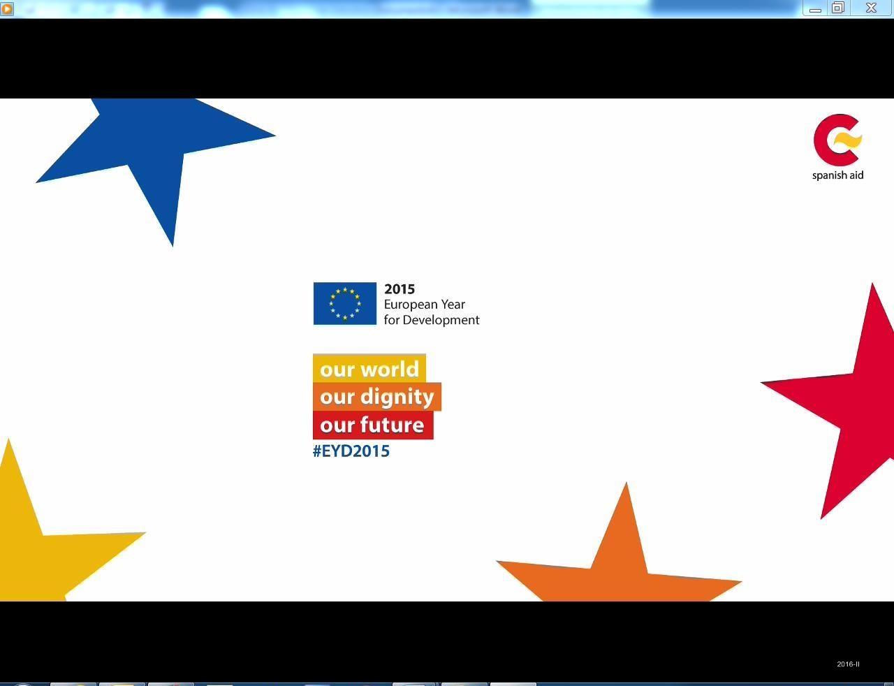 Cubierta de 2015 European year for development: our world : our dignity : our future [Videograbación]