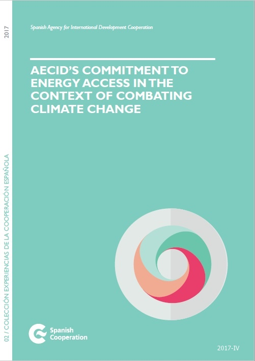 Cubierta de AECID'S commitment to energy acces in the context of combating climate change