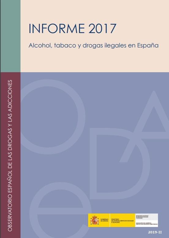 Cubierta de Observatorio Español de las Drogas y las Adicciones (OEDA) : Informe y Estadísticas