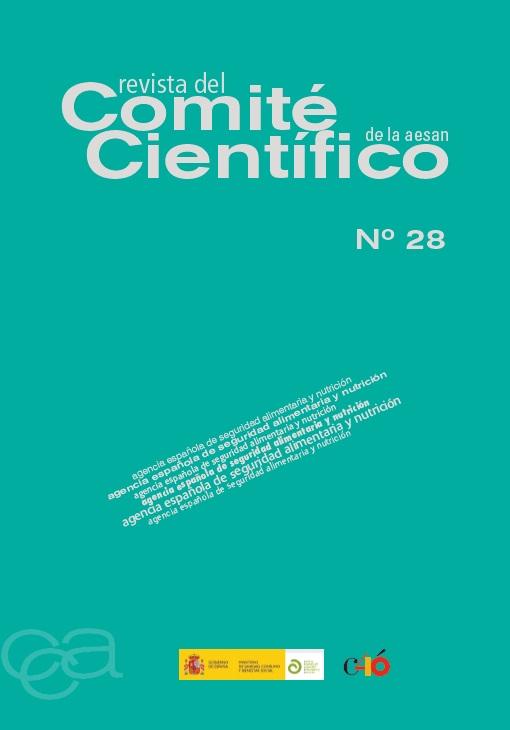 Cubierta de Revista del Comité Científico de la AECOSAN