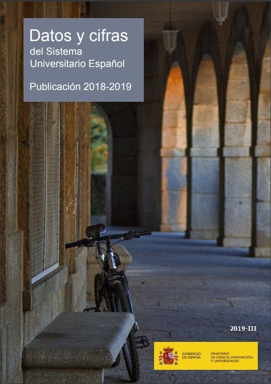 Cubierta de Datos y Cifras del Sistema Universitario Español