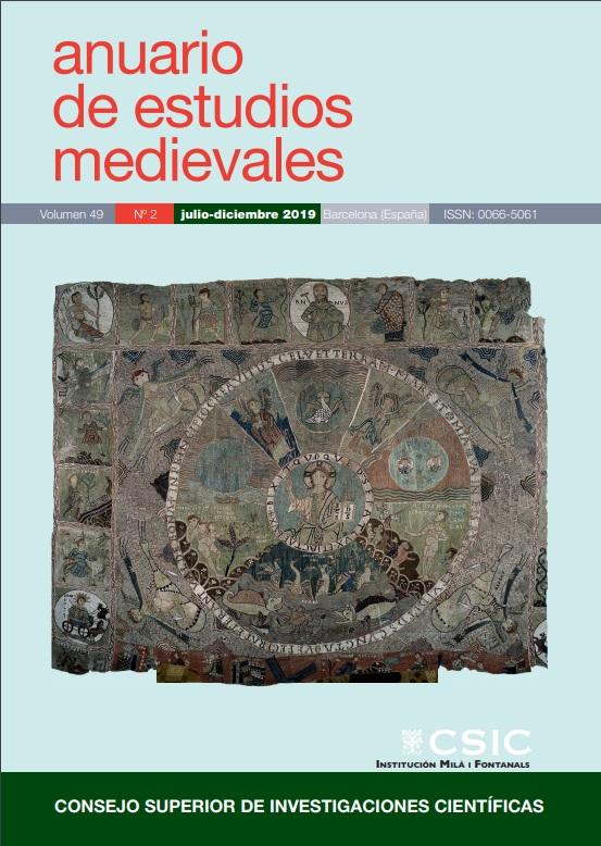 Cubierta de Anuario de Estudios Medievales