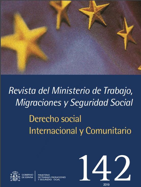 Cubierta de Revista del Ministerio de Trabajo, Migraciones y Seguridad Social