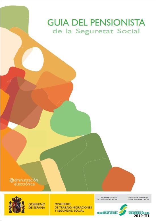 Cubierta de Guía del pensionista de la Seguretat Social