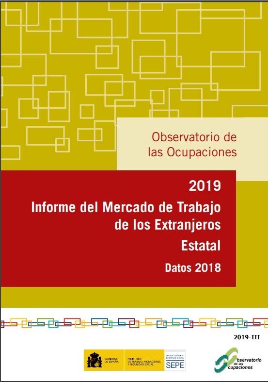Cubierta de Informe del Mercado de Trabajo de Extranjeros Estatal